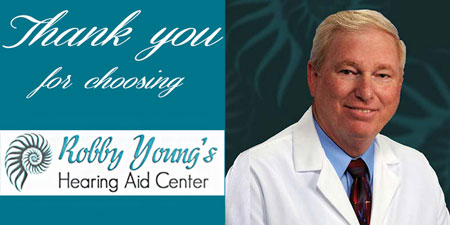 thank you for choosing robby young